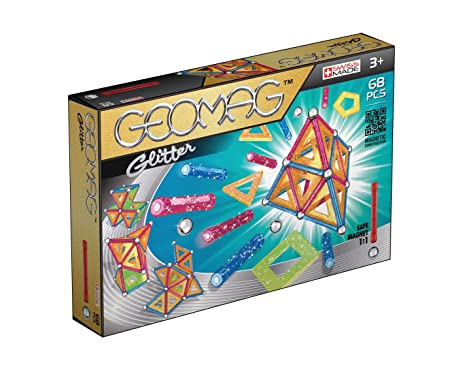 Geomag - 533 - Jeu de Construction - Glitter -  68 Pièces