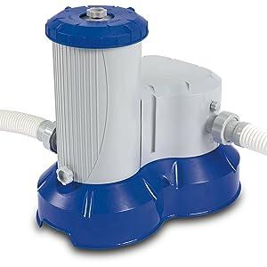 Bestway Premium Pumpleistung 9463 Liter/Std. Pool Filterkartuschenpumpe (Mig6046)  GartenKundenberichte und weitere Informationen