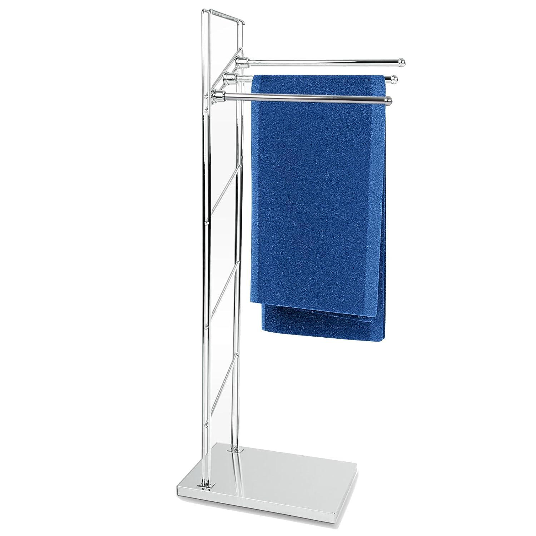 casa pura® Handtuchständer Apollo | freistehender Handtuchhalter
