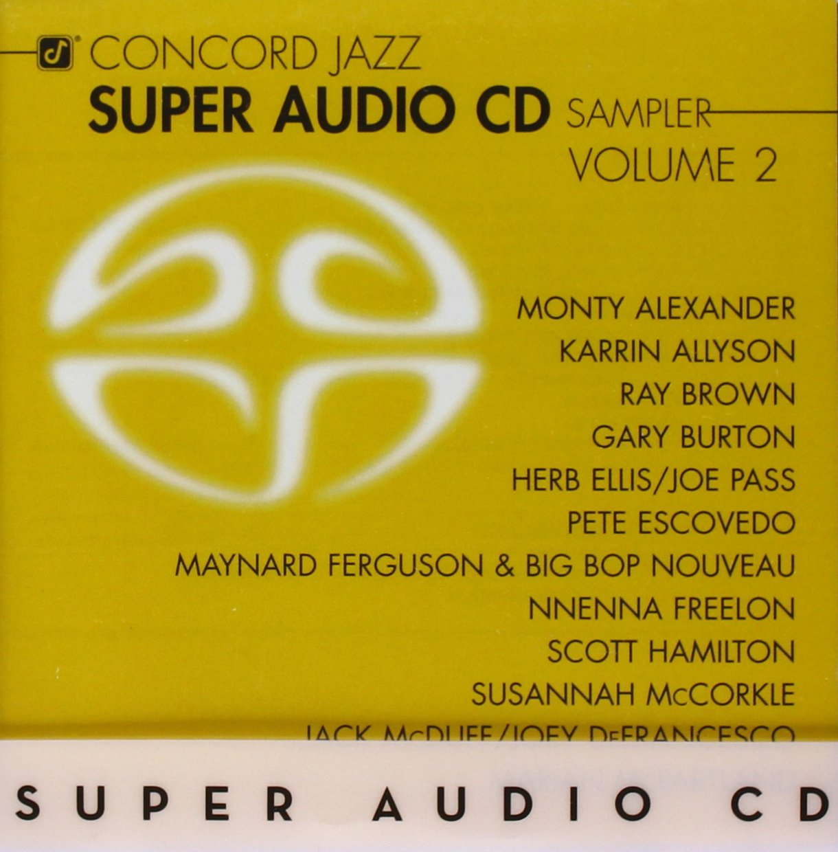 Concord Jazz Super Audio CD Sampler Volume 2