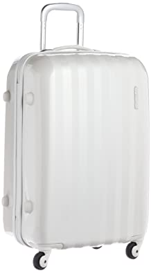 【クリックで詳細表示】[アメリカンツーリスター] AmericanTourister スーツケース PRISMO プリズモ スピナー65 無料預入受託サイズ 保証付 保証付 50L 65cm 3.8kg 41Z*15002 15 パールホワイト