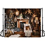 TMOTN 7x5ft Family Christmas Backdrop Photography Backdrops Christmas Picture Photo Studio Background Props Happy Year D2193 (Color: 2193 7x5ft, Tamaño: 7X5FT)