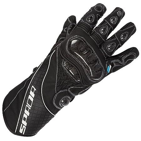Gants de cuir moto Spada Corsa RD noir