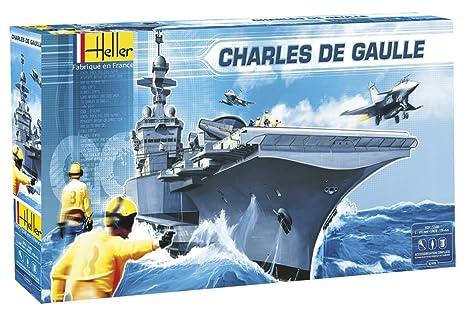 Heller - 52905 - Maquette - Bateaux - Charles de Gaulle - Echelle 1/400
