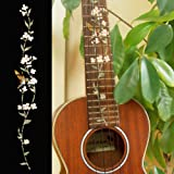 Ukulele - Concert Fretboard Markers Inlay Sticker Decal Tree of Life w/Hummingbird