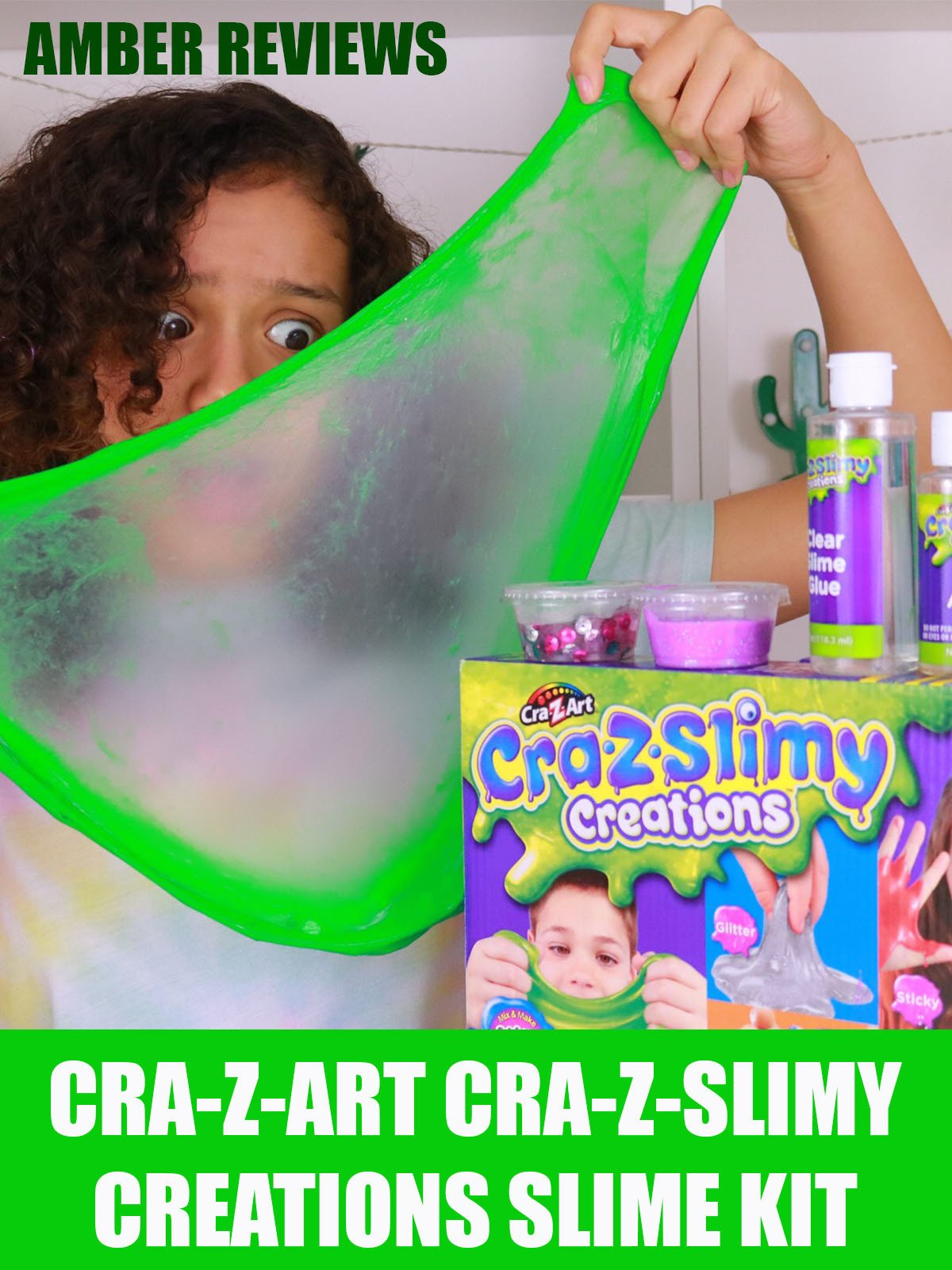 Amber Reviews Cra-Z-Art Cra-Z-Slimy Creation Slime Kit