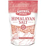 Sherpa Pink Authentic Himalayan Coarse Salt 2 lb. Bulk Bag - Ideal for Salt Grinders & Salt Mills (Tamaño: 2lb Bag)