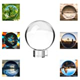 Neewer 100mm/3.94inch Clear Crystal Ball Globe with a Crystal Stand for Feng Shui/Divination or Wedding/Home/Office Decoration (Tamaño: 100mm)