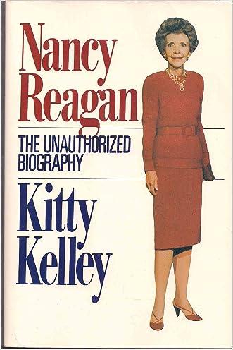 Nancy Reagan: The Unauthorized Biography (Thorndike Press Large Print Paperback Series) written by Kitty Kelley