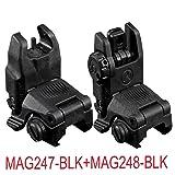 Magpul MBUS Front & Rear Sights MAG247-BLK+MAG248-BLK