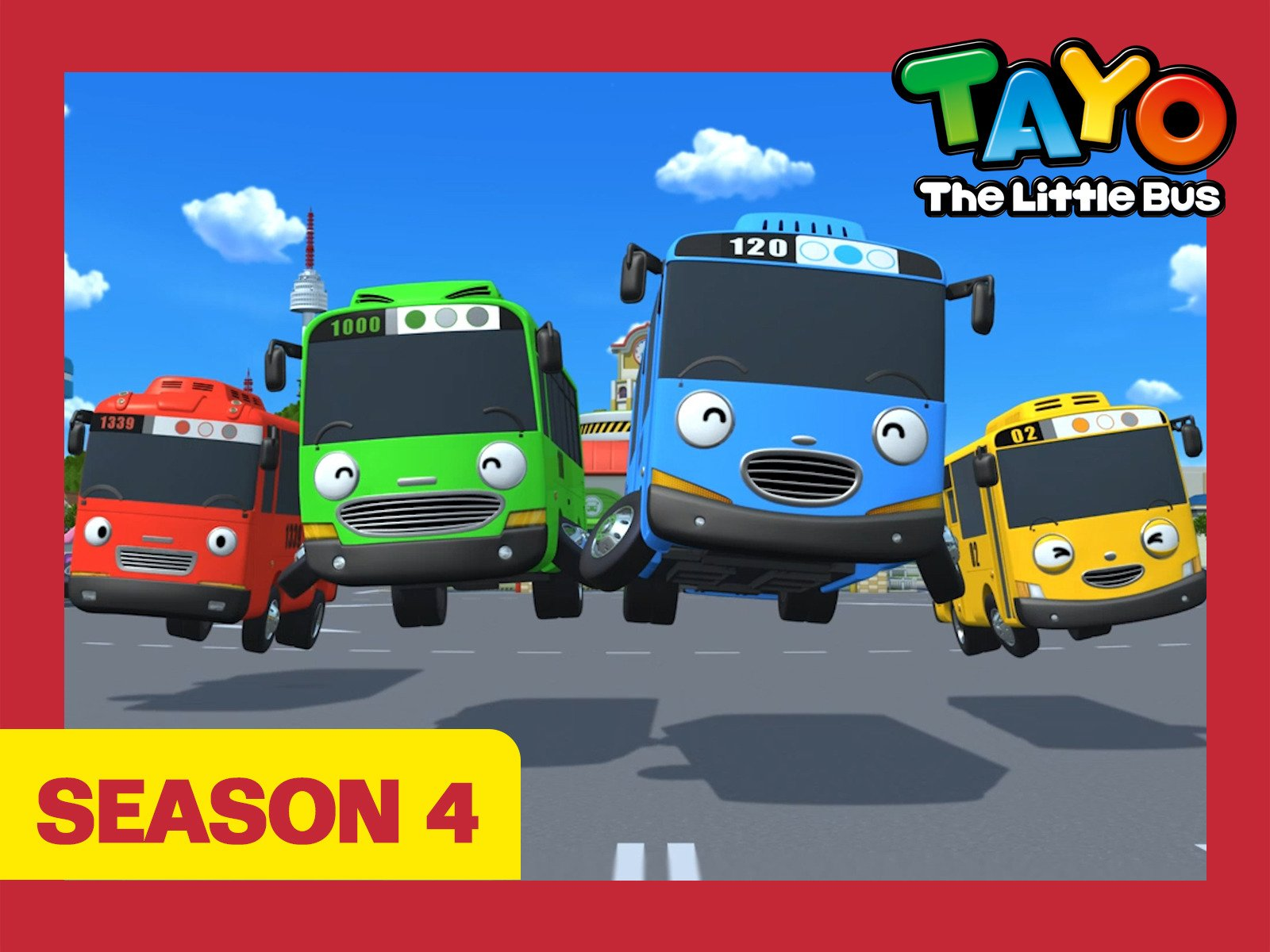 Tayo the Little Bus - Season 4
