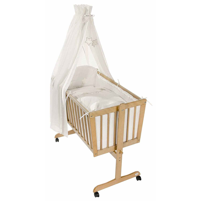 Easy Baby Wiege Komplettset natur, Creamstar 181-34
