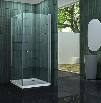 cabine de douche banho one banho one 80 x 80 x 190 cm sans sans bac bricolage z173. Black Bedroom Furniture Sets. Home Design Ideas