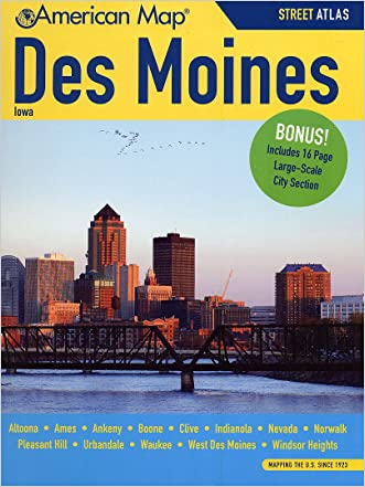Des Moines IA Atlas (American Map)
