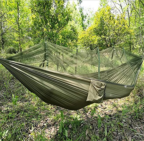 Medium image of camping hammock tancendes hammock with mosquito   camping