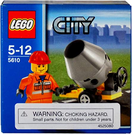 Lego - 5610 - City - Jeux de construction - Le maçon