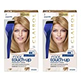 Clairol Nice 'n Easy Root Touch-Up 7 Kit (Pack of 2), Matches Dark Blonde Shades of Hair Coloring, Includes Precision Brush Tool (Color: 7 Dark Blonde, Tamaño: 2 Count)