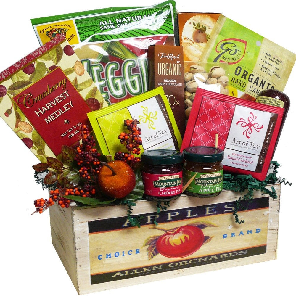 Organic food gift basket usa