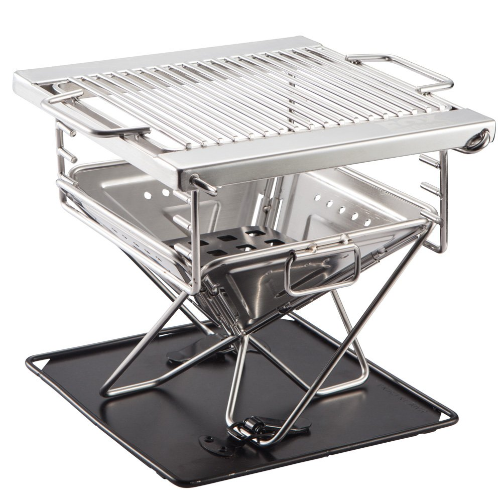 This little grill is made cheap but does the job! I picked this up about months ago. It's a little small but for $20 you can't beat this! If you know how to use charcoal this little grill will not be a problem.