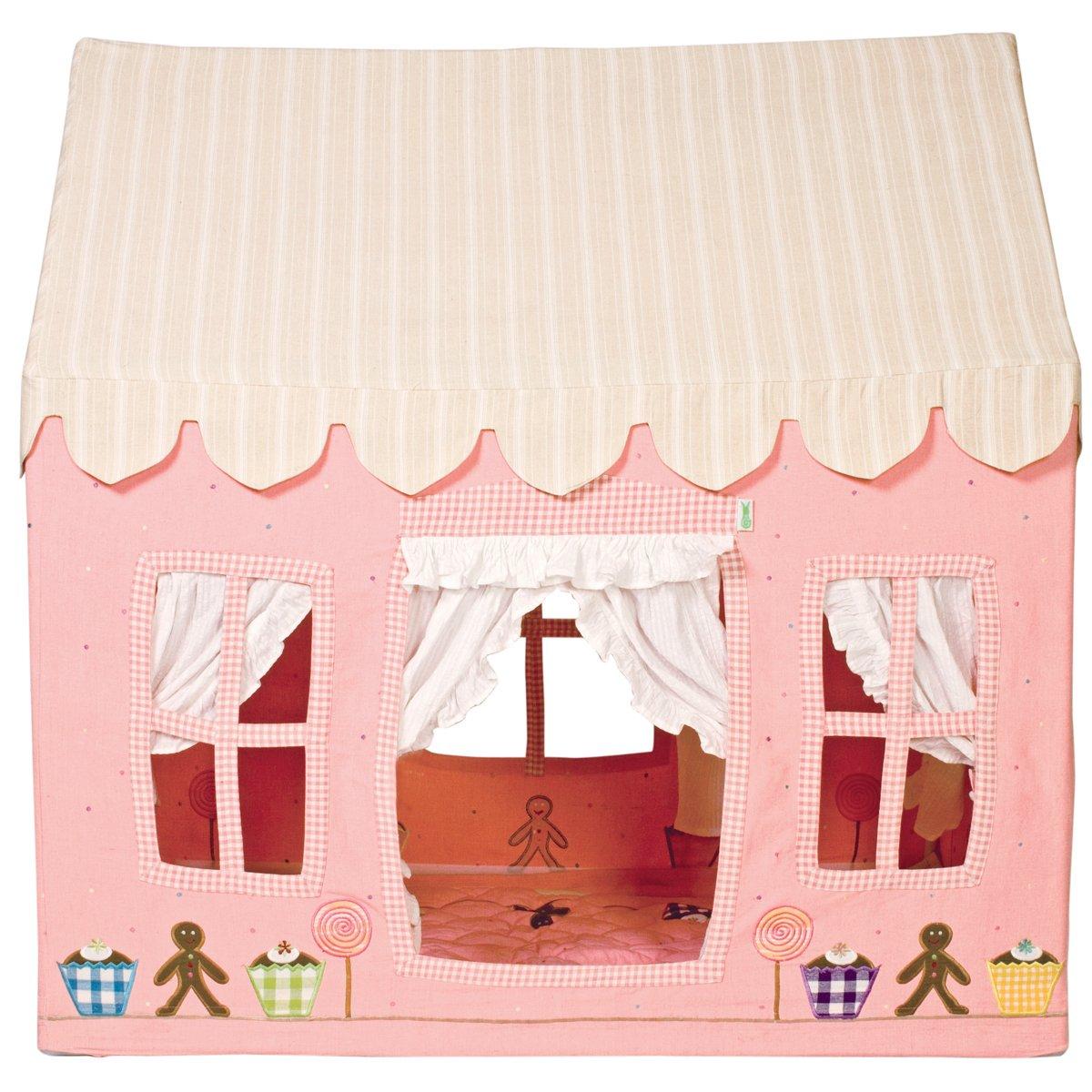 Spielzelt Lebkuchenhaus Größe: 110 cm H x 110 cm B x 74 cm T