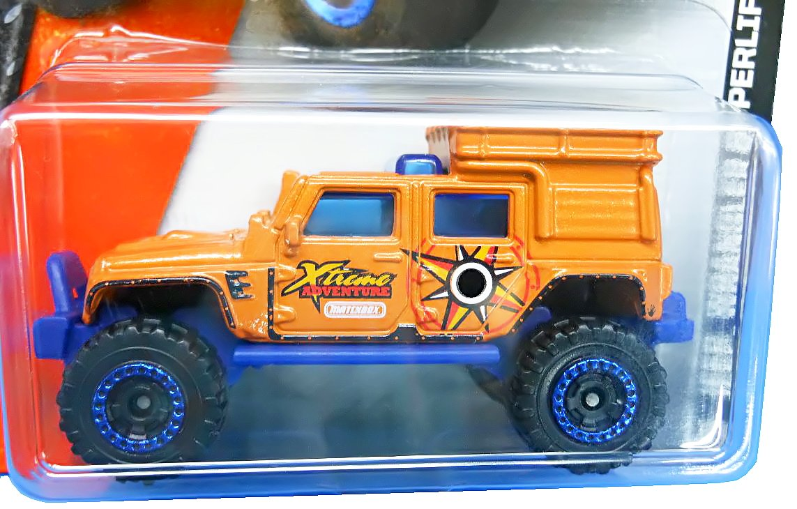 Jeep Wrangler Superlift orange von Matchbox Xtreme Adventure – MBX Explorers bestellen