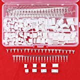 Hilitchi 560Pcs 2.54mm JST-XHP 2 / 3 / 4 / 5 Pin housing and Male / Female Pin Head Connector Adapter Plug Set