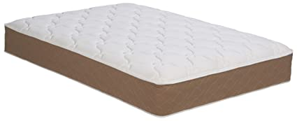 Wolf Lifetone Plush 288 high profile innerspring Mattress, filled with foam and Wolf's cotton blend, compressed and rolled,Queen Size