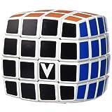 V-Cube 4 Cube Pillowed Cube Toy, White/Multicolor (Color: White/Multicolor)