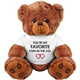 Funny Romantic Gift Bear For Couple: Medium Teddy Bear Stuffed Animal