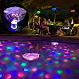 Colorful LED Bath light Swimming Pool Waterproof Floating Lights for Kids Bathing time,Pool Party (Color: As Picture Show, Tamaño: free size)