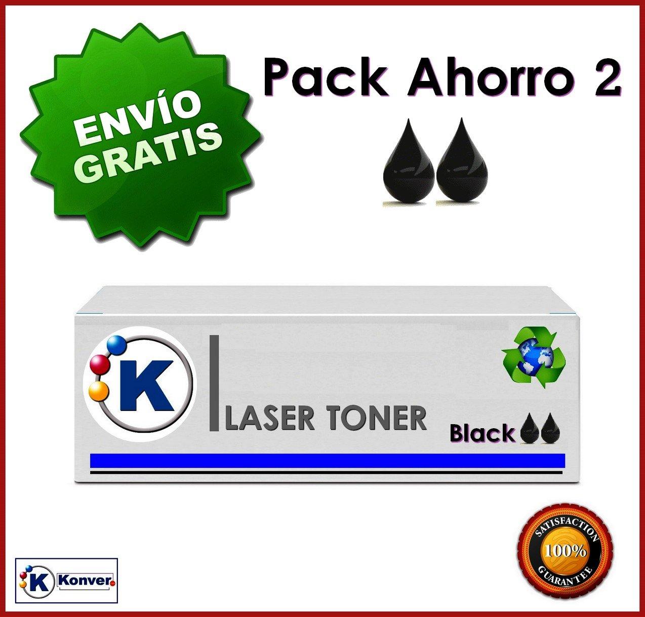 Pack 2 Unidades Toner hewlett packard compatible RENDIMIENTO 2800 pag. COLOR Negro Toner C7115A compatible con las impresoras hp  Electrónica Comentarios de clientes y más información