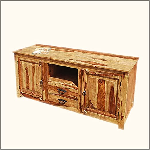 "Santa Fe 63"" Long TV Stand Entertainment Cabinet"