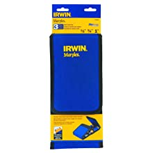 "Irwin Tools 1768781 Marples M500 Metal Strike Cap All Purpose 3-Piece Chisel Set with Wallet Holder (1/2"", 3/4"", 1"")"
