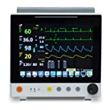 12.1 Inch Color Portable Patient Monitor with 6 Standard Parameter (Color: Gray)