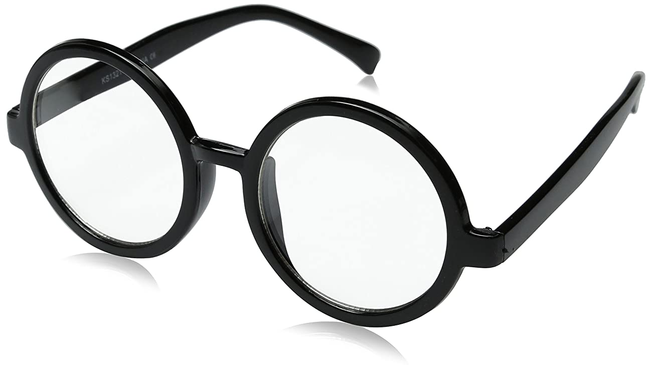 zeroUV - Vintage Inspired Eyewear Round Circle Clear Lens Glasses Eyeglasses 0