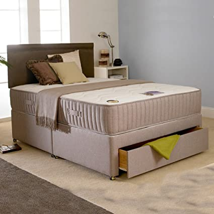 Deluxe Beds Ltd Reverso 4Ft 6 Double Sprung Memory Foam Mattress