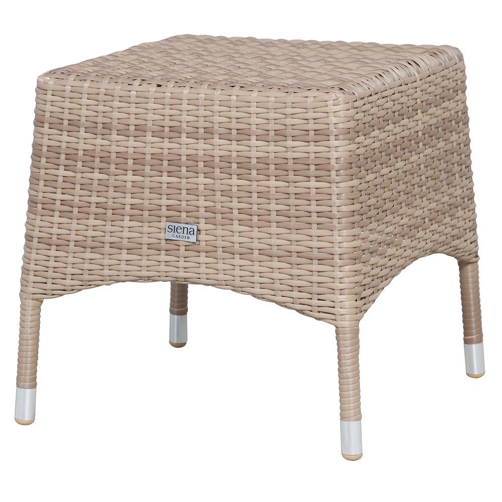 Siena Garden 915632 Hocker Move, Aluminium-Untergestell, Gardino-Geflecht sand, 42 x 42 x 46 cm bestellen