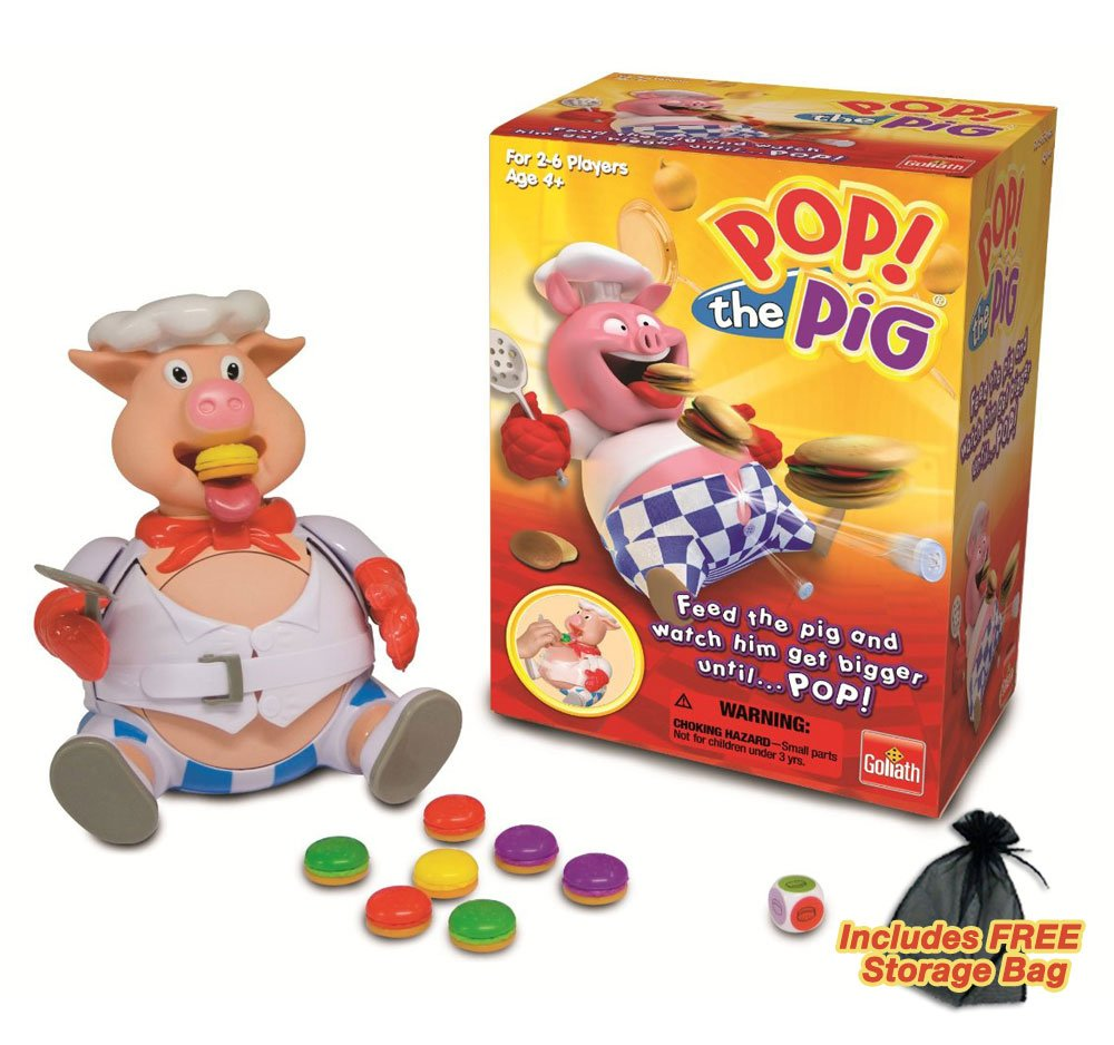 Pop The Pig Board Game With