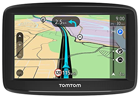 TomTom Start 42 Europe Traffic GPS 10,9 cm (4,3 Pouces), Lifetime Maps, Aide à la Conduite, 3 Mois Radar Caméras, Cartes de 45 Pays de l'Europe) Produit Import