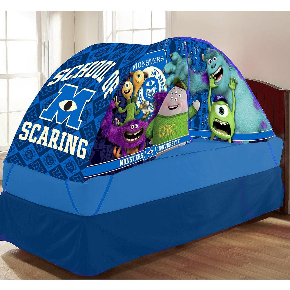 Monsters University Bed Tent with Push Light