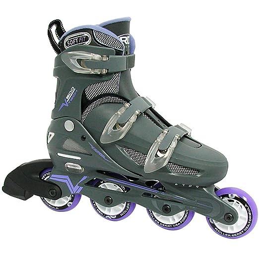 Roller Derby Women's Adjustable Inline Skate, Large : Childrens Inline Skates : Sports & Outdoors