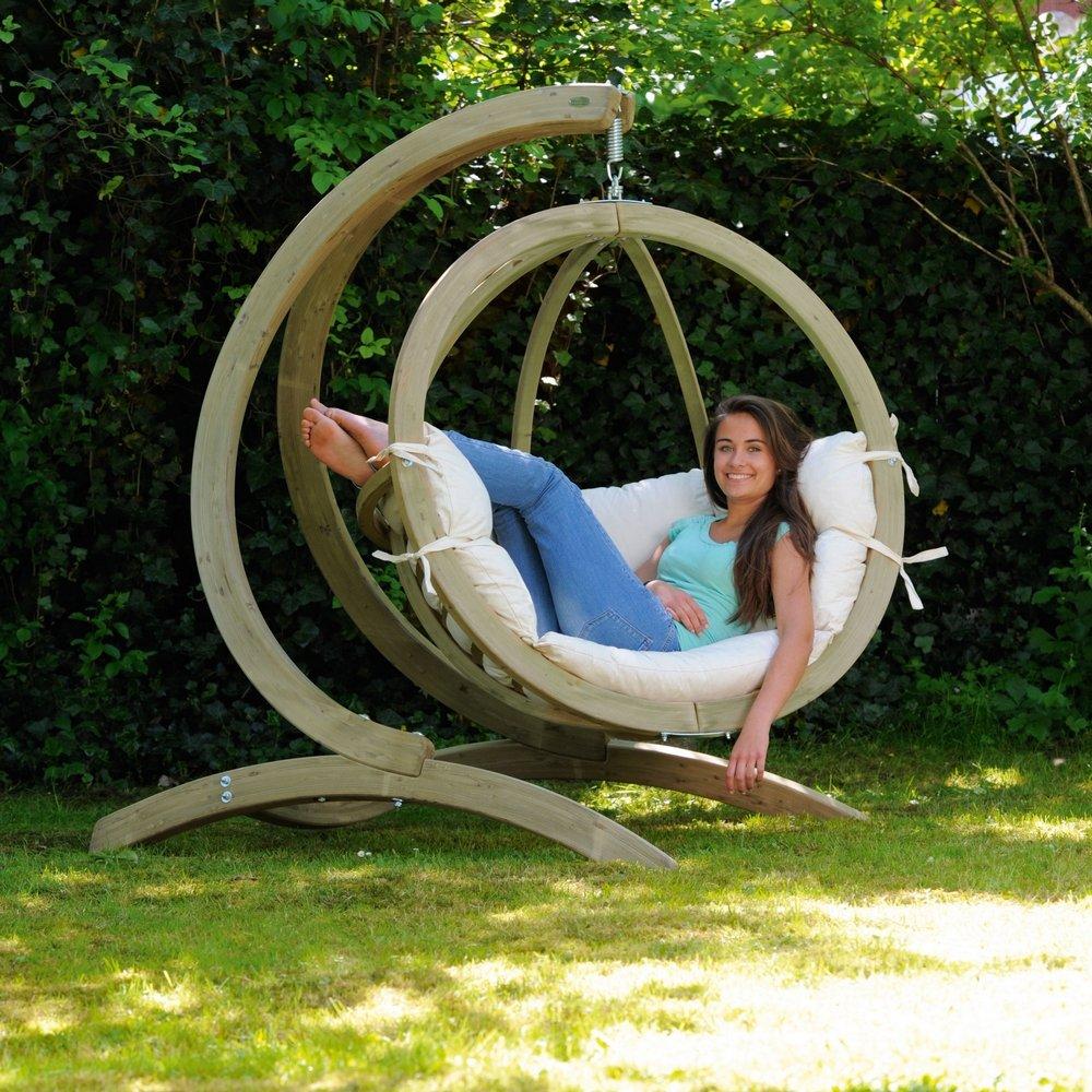 Amazonas Holzschaukel Globo Chair natura jetzt kaufen