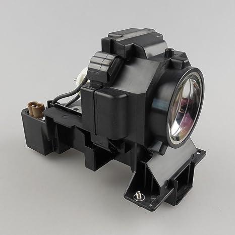 haiwo DT01001/cpx10000lamp de haute qualité Ampoule de projecteur de remplacement compatible avec boîtier pour Hitachi cp-sx12000/Wx11000/X10000& # xff0C; cp-x10001& # xff0C; cp-x11000; Duk