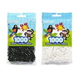 Perler Bead Bag, Bundle of Black and White (Color: Black-white)