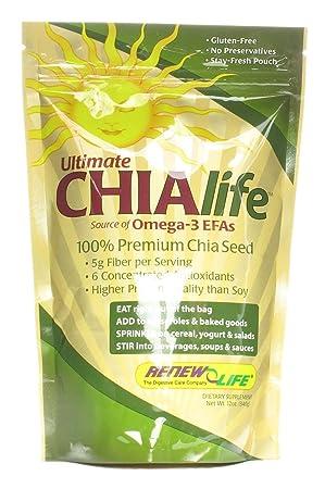 Отзывы Renew Life Ultimate CHIAlife