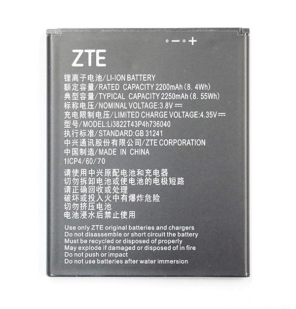ZTE OEM Battery Tempo X Tempo Go N9137 Li3822T43p4h736040