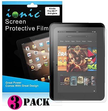Amazon.com: Ionic Screen Protector Film Matte (Anti-Glare) For ...
