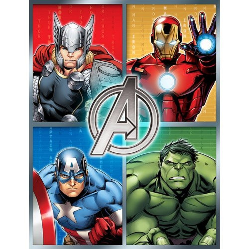 Avengers Assemble Plush Microfiber Throw