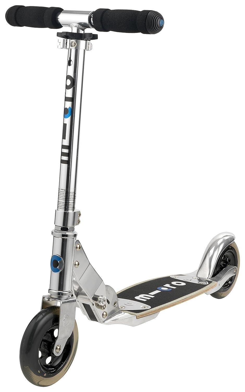 Micro SA0010 color argento, monopattino a due ruote per bambini dai 12 anni in su