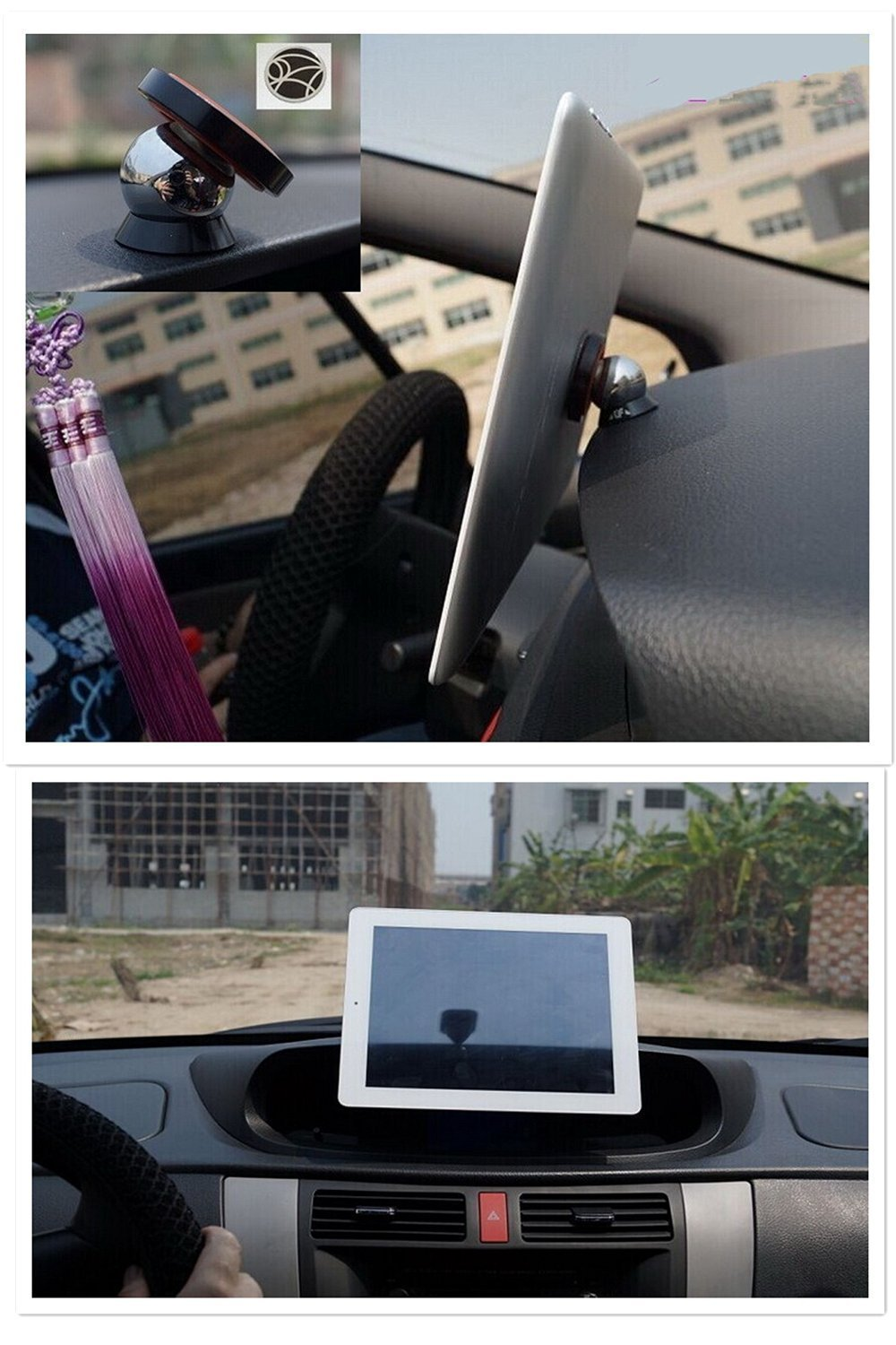 Steelie magnetic car dashboard mobile phone mount holder 6